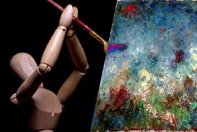robot-artist-machine-art-satire-comedy-humor