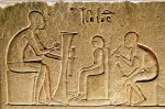 Artist statement ancient Egyptian hieroglyphs