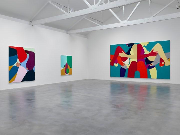 Installation view V1 True Colours_┬® Helen Beard_Courtesy Newport Street Gallery. Photo Prudence Cuming Associates