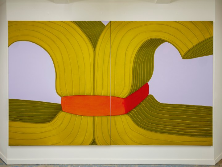 Pia Krajewski-Artuner Paris 2019, oT (Matratzensushi), 180x300cm, Courtesy of private collection