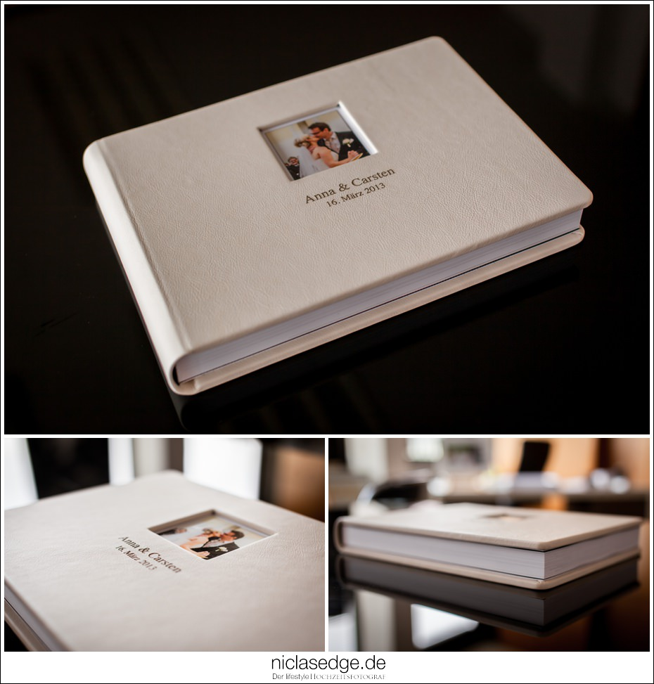 Luxus Hochzeitsalbum  ArtWeddings by Niclas Edge Photography