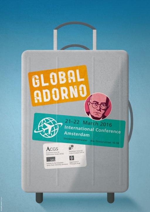 Global Adorno Plakat