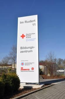 Deutsches Rotes Kreuz - Schild