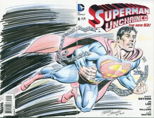 jerry ordway superman commission