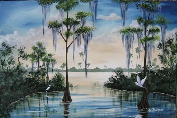 florida landscape #0140 sold