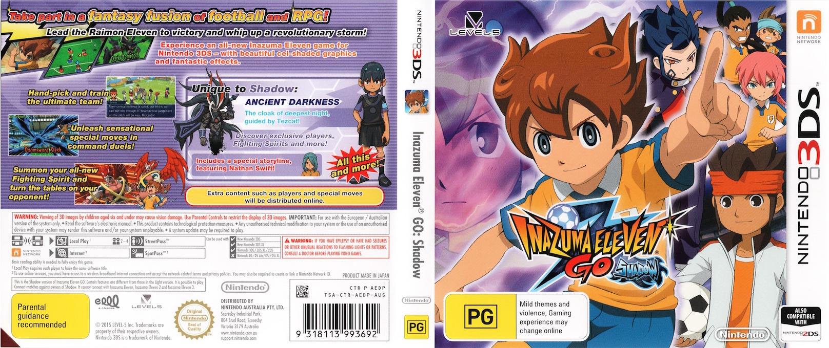 AEDP  Inazuma Eleven Go  Shadow