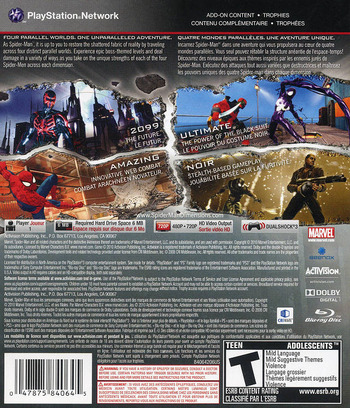 Blus30499 Spider Man Shattered Dimensions