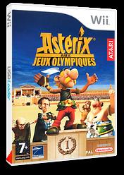 Astérix aux Jeux Olympiques pochette Wii (RQXP70)