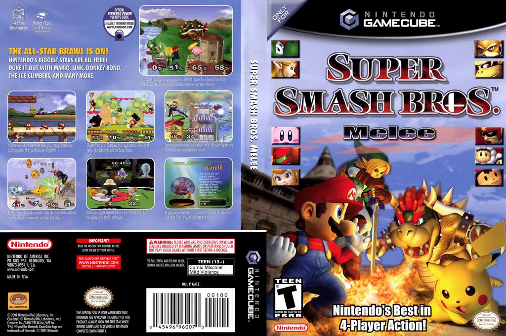 GALE01 Super Smash Bros Melee