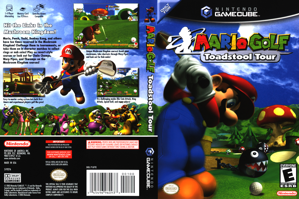 GFTE01 Mario Golf Toadstool Tour