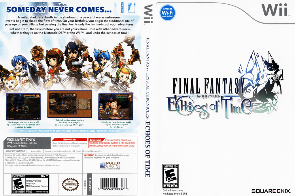 RFFEGD Final Fantasy Crystal Chronicles Echoes Of Time