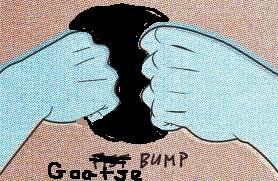 NOT a fist bump!