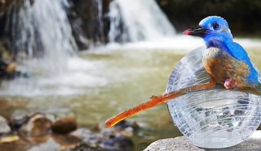 琉璃翠鳥--傳世之藝,成就珍稀