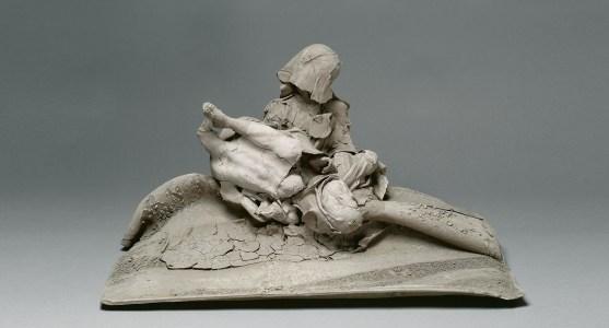在泥塑中尋找生命的永恆Georges Jeanclos