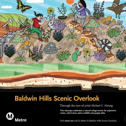 Michael C. Hsiung, Baldwin Hills Scenic Overlook