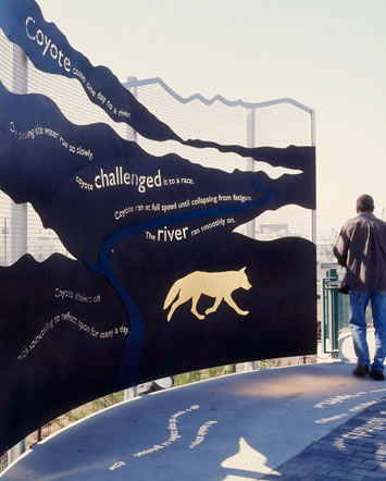"Cheri Gaulke, ""Water Street: River of Dreams"""