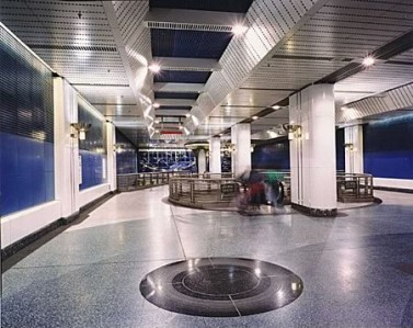 "Michael Davis, ""Ecliptic/ Illume"" (station view)"