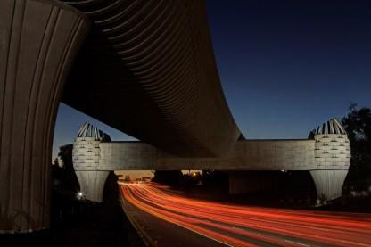 Gold Line Bridge (night)
