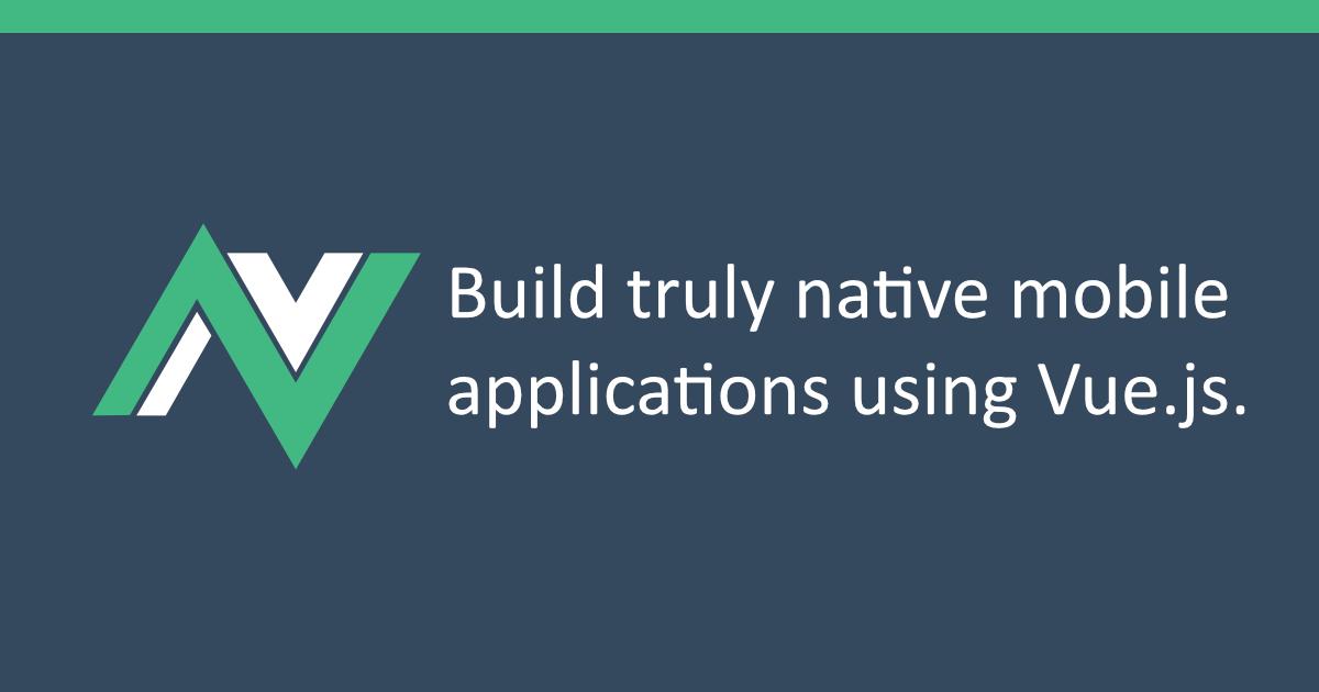 Introduction - NativeScript-Vue
