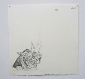 "Drawing by Anthony Elms at ""Drawer's Drawings"""