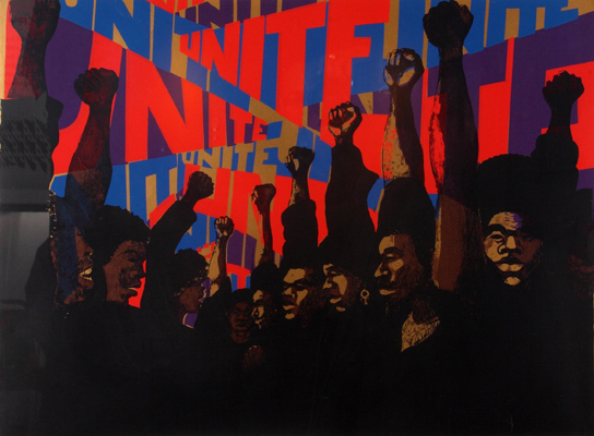 "Barbara Jones-Hogu, ""Unite,"" 1970"