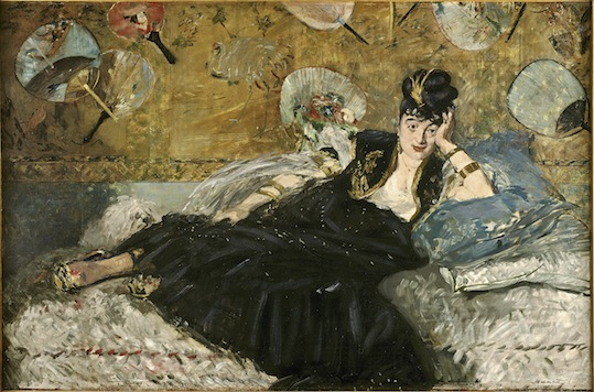 "Édouard Manet, ""Lady with Fans (Portrait of Nina de Callias),"" 1873"