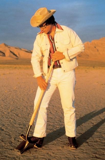 """Tony Tasset, """"Robert Smithson (Las Vegas),"""" 1995"""