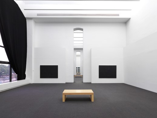 """Matthew Girson. """"The Painter's Other Library,"""" installation view"""