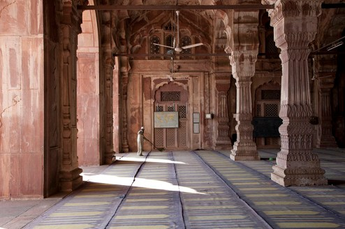 """Larry Snider. """"Cleaning Mosque, India,"""" 2013"""