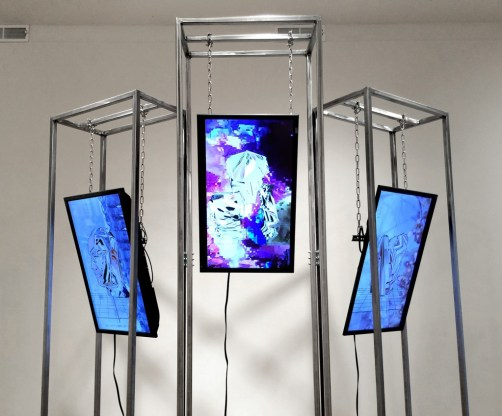"Alfredo Salazar-Caro. ""I Don't Need Power at the Cost of Spilled Blood (Liberté, Égalité, Fraternité),"" 2014"