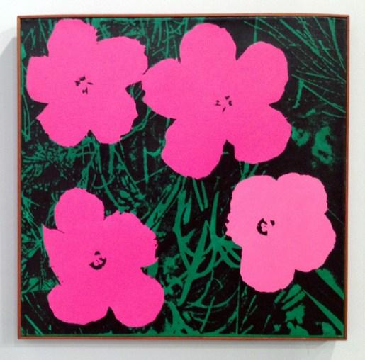 """Sturtevant. """"Warhol Flowers"""""""