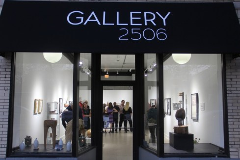 The recently opened Gallery 2506, located in Logan Square.