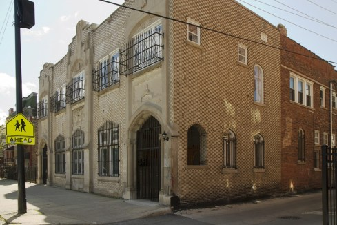 The property that ACRE is currently fundraising to renovate for its new home in Pilsen