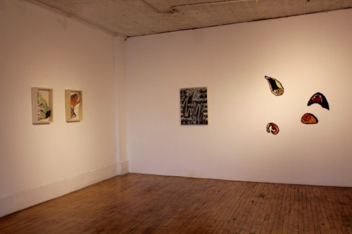 "Installation view, ""Ask the Oracle,"" Heaven Gallery."