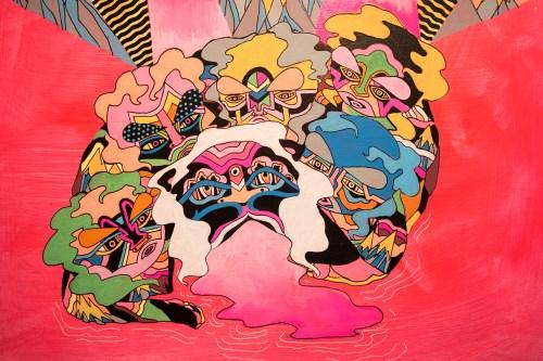 "Uriel Correa. ""Story of the Sacred Watchers,"" 2015."