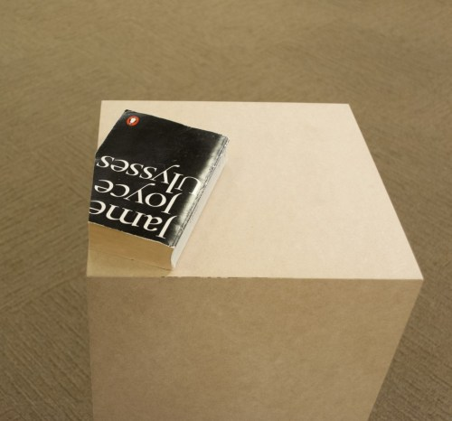 "Dora Garcia. ""Ulysses,"" since 1999. Trimmed book, unlimited edition."