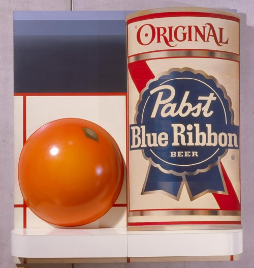 "Tom Wesselmann. ""Still Life #51,"" 1964. Formica, commercially printed paper; plastic and acrylic on canvas 108 x 96 x 16 1/2 inches."