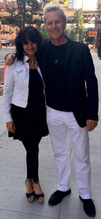 Arica Hilton and Sven Asmus, partners of Hilton Asmus Contemporary.