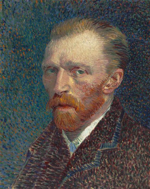 "Vincent van Gogh. ""Self–Portrait,"" 1887. The Art Institute of Chicago, Joseph Winterbotham Collection."