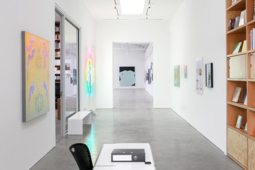 """Installation view of """"Chicago and Vicinity"""" at Shane Campbell Gallery, Spring 2016. /Photo: Evan Jenkins."""