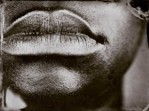 """Myra Greene. """"Untitled (Ref. #10) from Character Recognition,"""" 2006-2007. Black glass ambrotypes, 3 x 3 4/5"""" inches"""