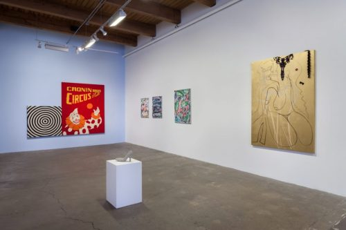 "Installation view of ""By Hand"" at Carrie Secrist Gallery, Spring 2016."