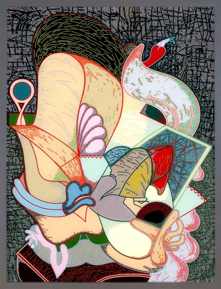 "Barbara Rossi, ""Eye Deal,"" 1974. Acrylic on Plexiglas panel and frame /Photo: Doug Fath"
