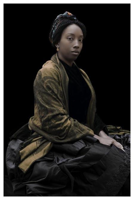 "Ayana V. Jackson, ""Iqhiya,"" 2016 /Gallery MOMO (Johannesburg)"