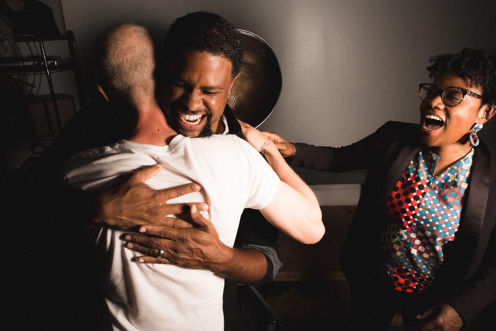 John Preus, Faheem Majeed and Cauleen Smith/ Photo: Joe Mazza/Brave Lux