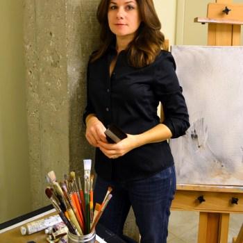 Karen Azarnia in her studio.
