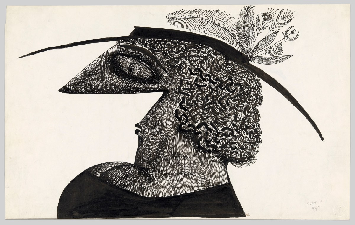 "Drawing America from an Immigrant's View: A Review of ""Along the Lines: Selected Drawings by Saul Steinberg"" at the Art Institute of Chicago"