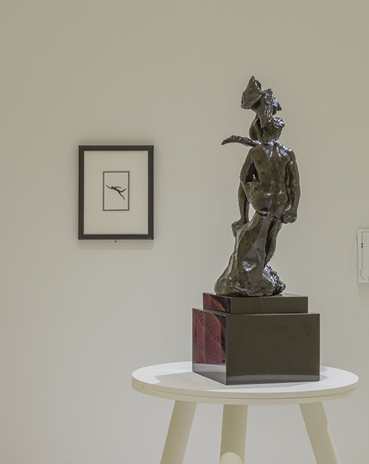 "Rodin and Nauman Face Off, A Review of ""Hysterical Material"" at the Smart Museum of Art"
