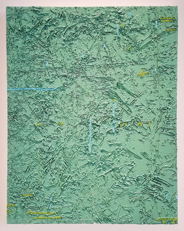 """Book-Smart Painting Hits the Streets: A Review of """"In/scription"""" at Zolla Lieberman Gallery"""
