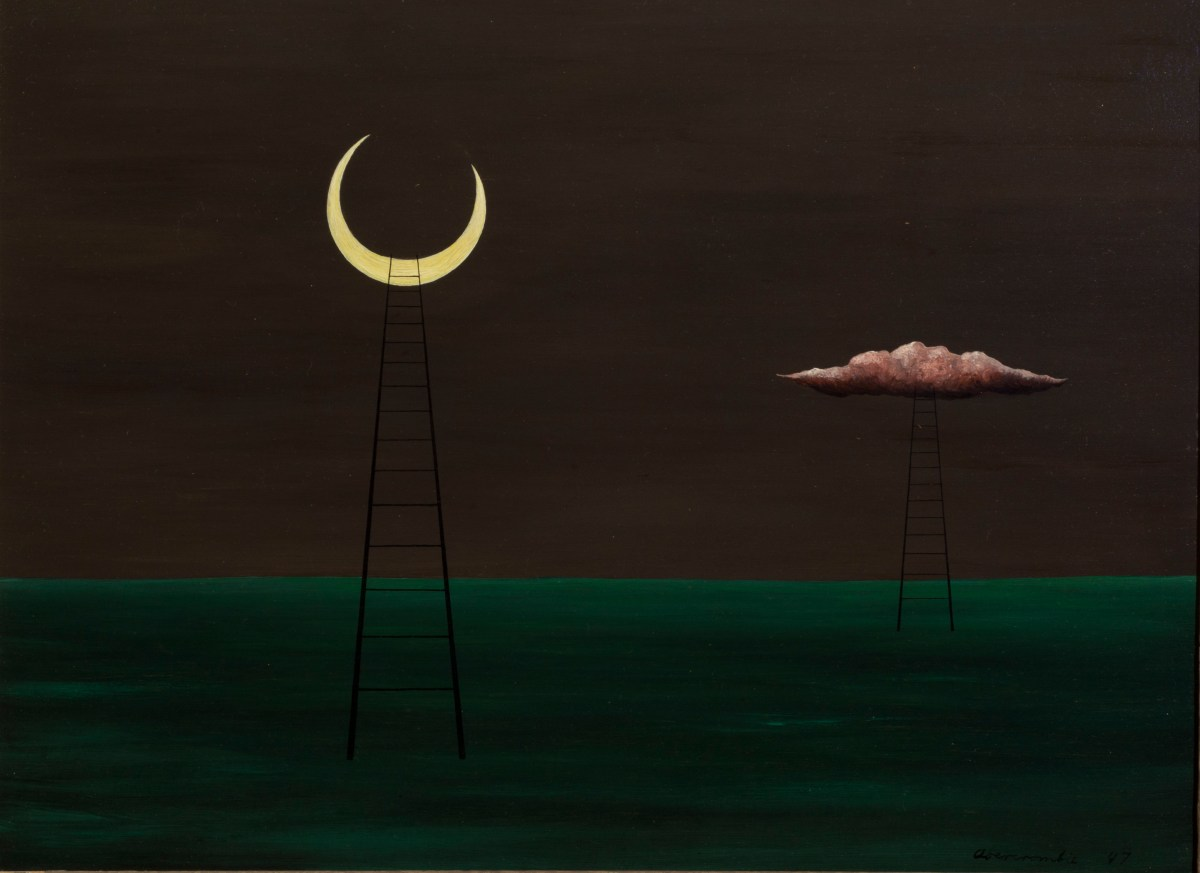 Cats, Moon Goddesses, and Visions of the Night: A Review of Gertrude Abercrombie at the Elmhurst Art Museum